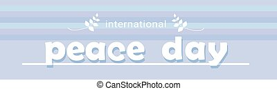 El póster internacional del día de la paz
