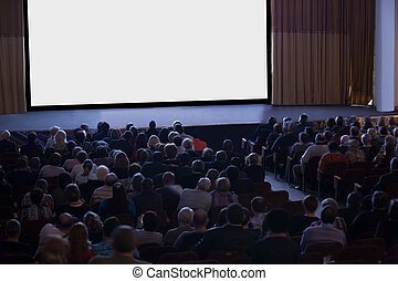 El público mira el cine