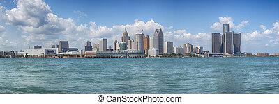 El panorama de Detroit