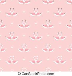 El patrón del cisne de San Valentín