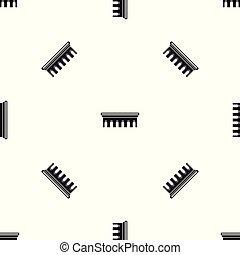 El patrón del puente es negro