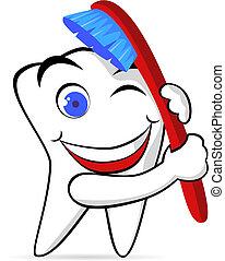 El personaje del diente