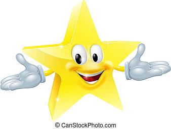 El personaje del hombre estrella