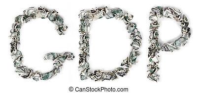 El PIB, quebró billetes de 100 dólares