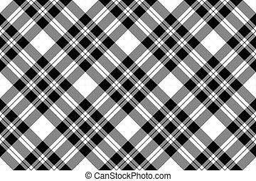 El pixel comprueba la textura de tela sin un patrón blanco negro