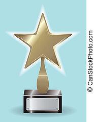 El premio de la estrella de bronce