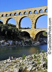 El puente de Gard
