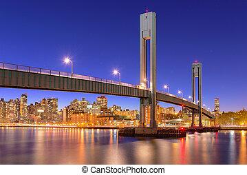 El puente de la isla de Ward