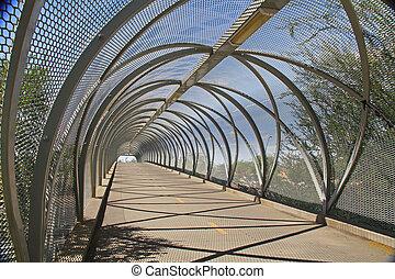 El puente de la serpiente en Tucson Arizon