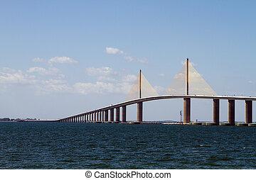 El puente del cielo del sol