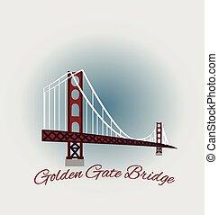 El puente Golden Gate de San Francisco