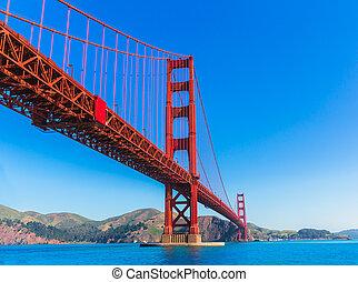El puente Golden Gate San Francisco de Presidio California