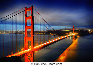 El puente Golden Gate, San Francisco