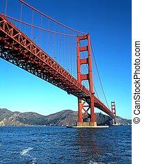 El puente Golden Gate, San Francisco.