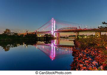 El puente Kosciuszko, Nueva York