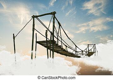 El puente Wooden
