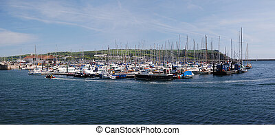 El puerto de Plymouth