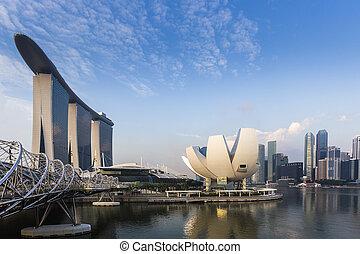 El punto de vista del museo de Singapur