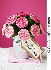 El ramo de pastel de mamá