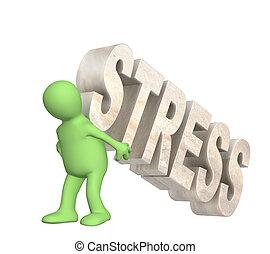 El rehén del estrés