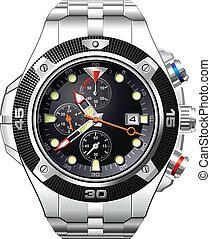 El reloj de hombre