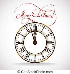 El reloj de Navidad