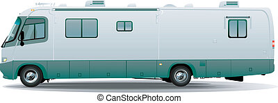 El remolque de caravanas