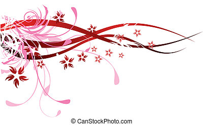 El rojo florece