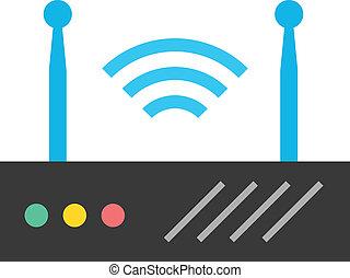 El router inalámbrico Vector