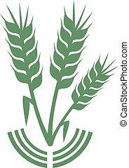 El símbolo de la agricultura verde
