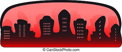 El símbolo de la ciudad del crimen