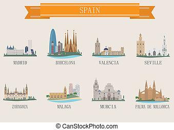 El símbolo de la ciudad. España