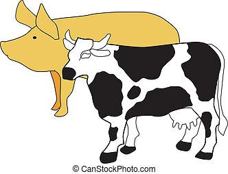 El símbolo de la cría de ganado