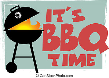 El símbolo de Retro BBQ