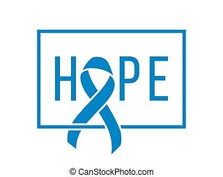 El símbolo del cáncer de próstata del mundo