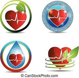 El símbolo del corazón humano