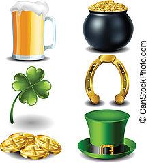 El símbolo del día de San Patricks