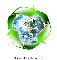 El símbolo del medio ambiente