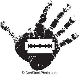 El símbolo del suicidio