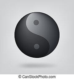 El símbolo del yin yang