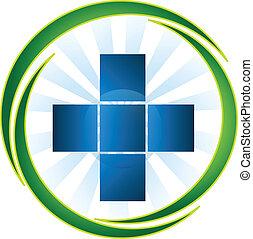 El símbolo médico vector de icono