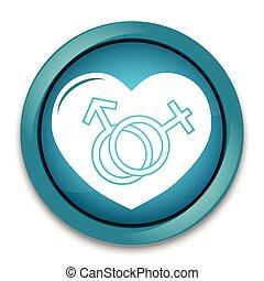 El símbolo sexual masculino y femenino