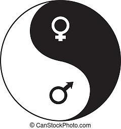 El símbolo Yin-yang