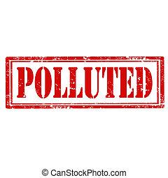 El sello contaminado