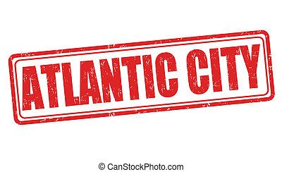 El sello de Atlantic City