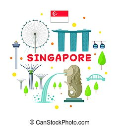 El sello de atracción de Singapur