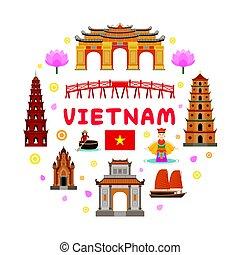 El sello de atracción de Vietnam