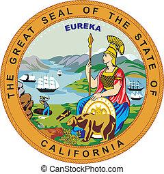 El sello de California