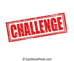 El sello del desafío