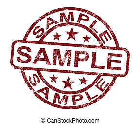 El sello muestra un símbolo o gusto